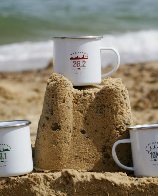 Mugs on the Beach